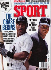 Sport Magazine Cover 1992