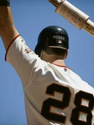 Buster Posey on deck