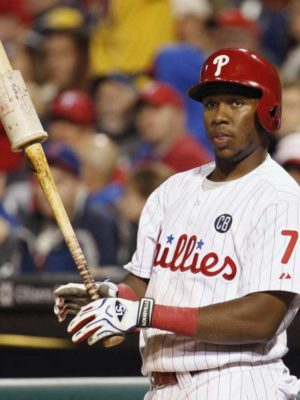 Maikel Franco on deck