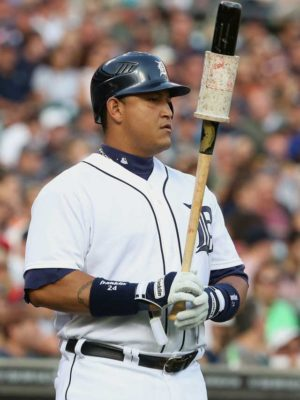 Miguel Cabrera on deck